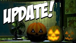 getlinkyoutube.com-Five Nights at Freddys 1-3: Halloween UPDATE GAMEPLAY! NEW Pumpkins! NEW Lights!