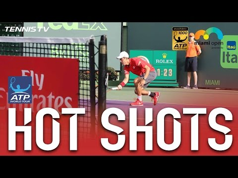 Nishikori Cuts Delicate Miami 2017 Hot Shot