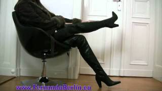 getlinkyoutube.com-Leatid presents FernandoBerlin Crotchhigh Boots
