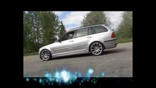 getlinkyoutube.com-BMW 320 D E46 Touring - Turiec Cars