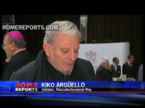 Kiko Arg�ello from the Neocatecumenal Way talks about plans for the Year of Faith