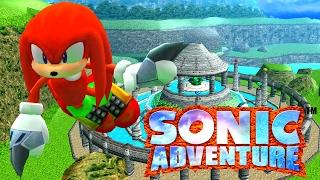Sonic Adventure DX Dreamcast Conversion Mods - Knuckles Story 4K HD
