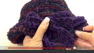 getlinkyoutube.com-Sombrero tejido de Alborada - Complemento de la Palestina de Alborada - Tejiendo con Laura Cepeda