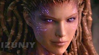getlinkyoutube.com-StarCraft 2 Heart of the Swarm All Cinematics Cutscenes Movie