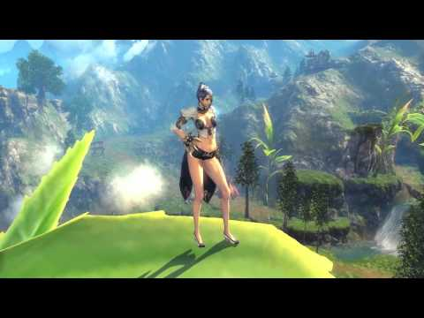 Blade & Soul - CBT3 - Outfits & Walking Animation