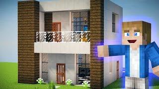 getlinkyoutube.com-Minecraft Tutorial - Como fazer uma Pequena Casa Moderna