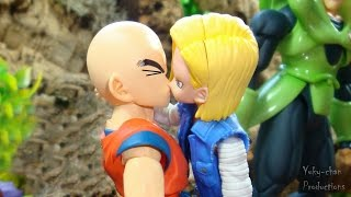 getlinkyoutube.com-BARDOCK 8 ★★EL BESO★★ - Dragon ball crazy (parodia) - Foto comic - Stopmotion Figuarts
