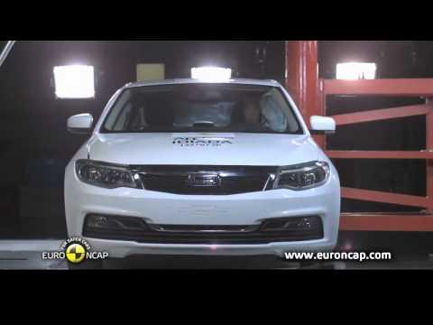 Китайский автомобиль прошел краш-тест