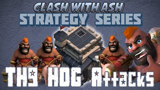 getlinkyoutube.com-Clash Of Clans | How to 3 Star with Hogs & Lower Level Heroes at Th9