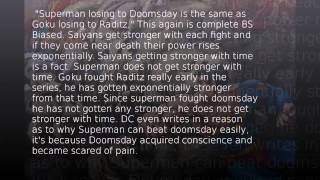 getlinkyoutube.com-Goku vs Superman 2: Screw Attack Screwed Up Again