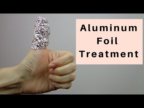 Aluminum Foil Treatment - Massage Monday #333