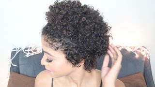 getlinkyoutube.com-3 Easy TWA Hairstyles on Natural Hair