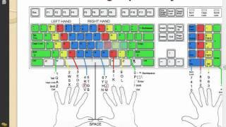 Mengetik 10 Jari   Posisi Jari Tangan Pada Keyboard