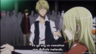 getlinkyoutube.com-Durararax2 Ketsu Shizuo vs Izaya Final Battle  Part 2
