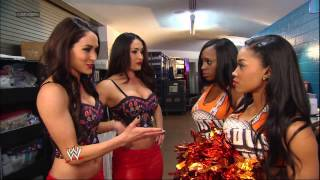 getlinkyoutube.com-The Bella Twins and The Funkadactyls get into a huge brawl: SmackDown, March 15, 2013