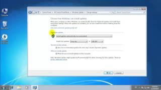 getlinkyoutube.com-สอนวิธีการ เปิด - ปิด Windows Update สำหรับ Windows 7