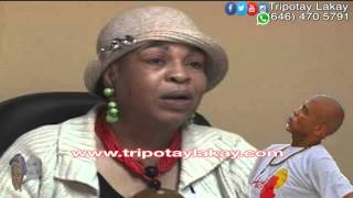 getlinkyoutube.com-Liliane Pierre Paul Radio Kiskeya - Repons pou Michel Martelly