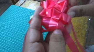 getlinkyoutube.com-ริบบิ้นเหรียญโปรยทานแบบกล่องของขวัญ