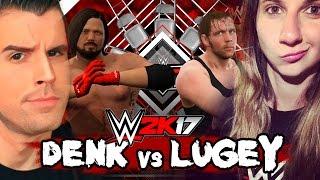 getlinkyoutube.com-WWE 2K17: DENK vs LUGEY!! EPIC TLC ONLINE MATCH!! (AJ Styles vs Dean Ambrose)