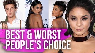 getlinkyoutube.com-Best & Worst Dressed People's Choice Awards 2016 (Dirty Laundry)