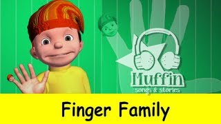 getlinkyoutube.com-The Finger Family 3D (Daddy Finger) | Original Muffin Songs Version
