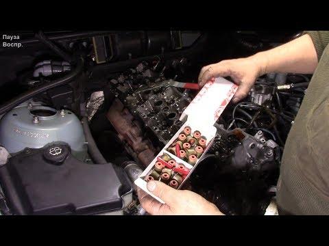 Где сальник двигателя в BMW 8