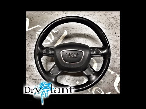 Removal airbag - instalation steering wheel Audi A6 2010-2015.  -   Dr.Volant