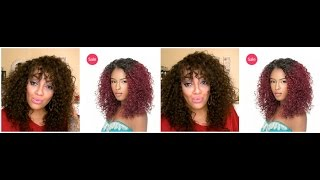 getlinkyoutube.com-FLAWLESS CHEAP $18.99 Lace Front Wig Sensationnel Evelyn