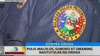 Pulis-Malolos, sumuko at umaming nagtutulak ng droga