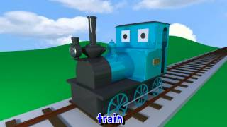 getlinkyoutube.com-Learn sounds and names of transport vehicles for children, toddlers and babies