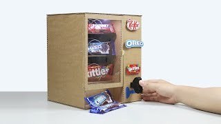 How to Make KitKat Skittles OREO Vending Machine
