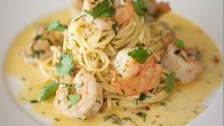 getlinkyoutube.com-Shrimp Scampi & Linguine | Byron Talbott