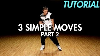 getlinkyoutube.com-3 Simple Dance Moves for Beginners - Part 2 (Hip Hop Dance Moves Tutorial) | Mihran Kirakosian
