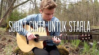 Virgoun   Surat Cinta Untuk Starla    Fingerstyle Guitar Cover By Mattias Krantz