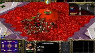 Warcraft III: TFT - (CUSTOM) 91 - Grand Blood Tournament v2.9 - Karter jede do Azotika