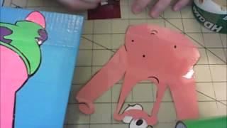 getlinkyoutube.com-(SpongeBob) Patrick Star painting time lapse