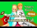 Super Bowl Commercials Ads 2015 Barbie Elsa Disney Frozen Doll Princess Football Play-Doh