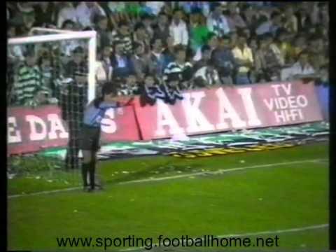 07J :: E. Amadora - 0 x Sporting - 0 de 1988/1989