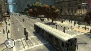 getlinkyoutube.com-Riding a train in gta 4 streets and firetrack subway!