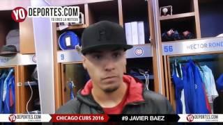 Javier Baez a tomar todas las oportunidades con Chicago Cubs