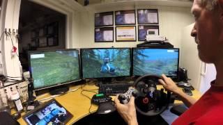 getlinkyoutube.com-Farmer Simulator 2015 Triple screen PONSSE