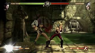 getlinkyoutube.com-Mortal Kombat 9: Story Mode Character Swaps