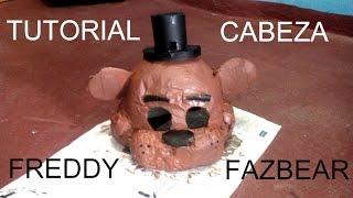 getlinkyoutube.com-Cómo hacer la máscara de Freddy Fazbear - FNaF