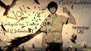 getlinkyoutube.com-Zankyou no Terror AMV - Sail (Unlimited Gravity Remix)