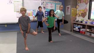 Yoga in the Classroom: K–4 Standing Sequence