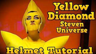 getlinkyoutube.com-Yellow Diamond Helmet Tutorial (Steven Universe) COSPLAY