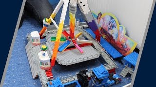 getlinkyoutube.com-Lego Kirmes High Energy | Timelapse | KirmesLego100 | HD