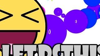 getlinkyoutube.com-Agario! SMILEY FACE BOSS! - Agar.io Gameplay Walkthrough Part #2