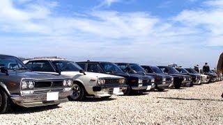 getlinkyoutube.com-旧車大集合! 第4回クラシックカーミーティングin境港
