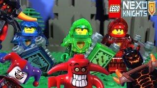 getlinkyoutube.com-LEGO NEXO KNIGHTS MINIFIGURES